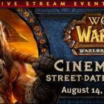 Evento de Blizzard en directo el 14 de Agosto