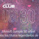 ¡Felices 30 Ubisoft!