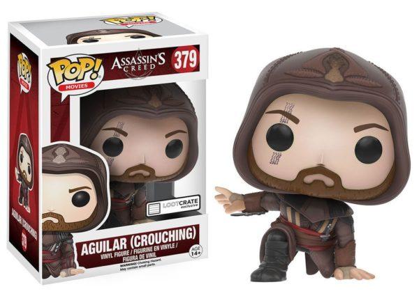Aguilar (Agachado) POP! Movies: Assassin's Creed