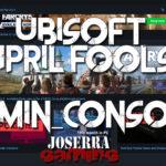admin_console el April Fools de Ubisoft en UPlay