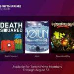 Desvelados los juegos gratis con Twitch Prime de Agosto