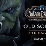 Old Soldier, una nueva cinemática de  World of Warcraft