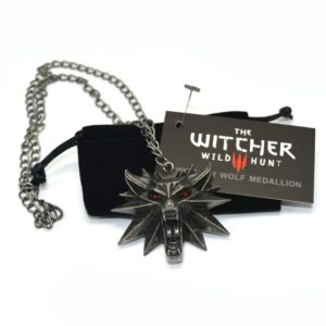 Colgante cabeza de Lobo - The Witcher