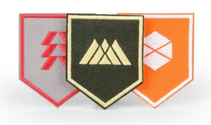 Destiny - Parches de Guardián